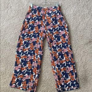Whistles cropped relaxed pants
